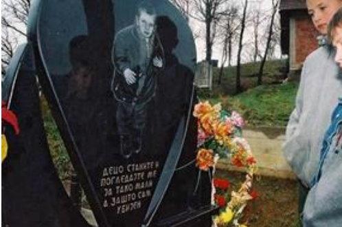 Сећање на убиство четворогодишњег Милоша у Церници код Гњилана