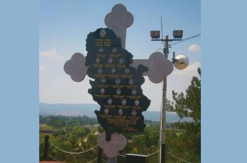 Где је данас споменик погинулим жандармима у Лучану код Бујановца?